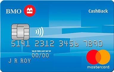 BMO CashBack Mastercard Credit Card