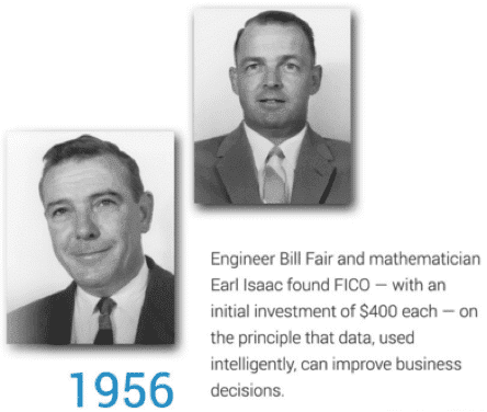 Image of Bill Fair and Earl Issac in 1956