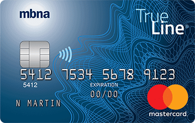 MBNA True Line Mastercard Credit Card