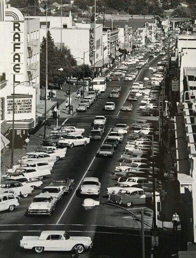 San Rafael, California in the 1950's