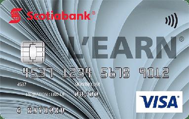 Scotia L'earn Visa Credit Card