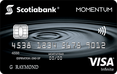 Scotia Momentum Visa Infinite Credit Card