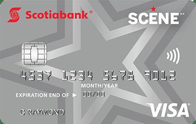Scotia Scene Visa Credit Card
