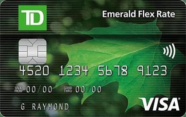 TD Emerald Flex Visa Credit Card
