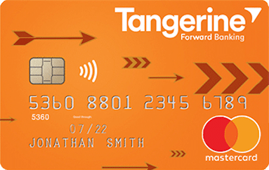 Tangerine Money Back Mastercard Credit Card