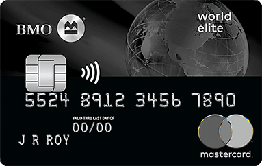 BMO Travel Rewards World Elite Mastercard