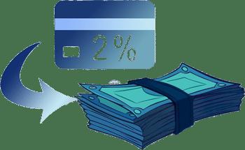 Receive 2% Cashback