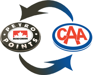 petro points to caa dollars conversion